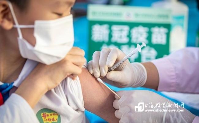 上海将启动常住本市的6-11岁人群新冠疫苗登记预约接种